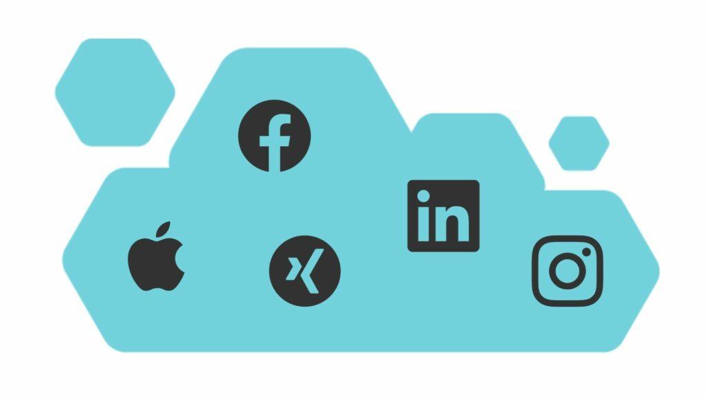 EventCloud social login integrations