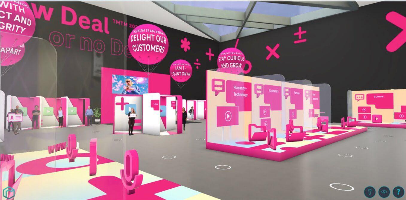 virtual event space Telekom