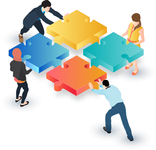 virtual event networking graphic