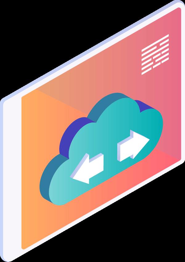 cloud tech icon